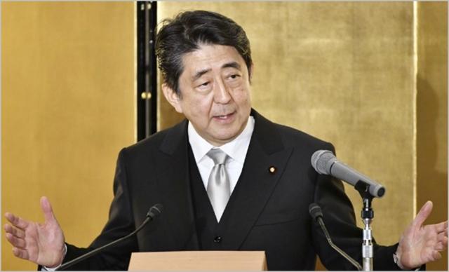 아베 신조 일본 총리 ⓒ연합뉴스