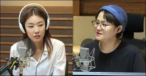 모델 한혜진이 누드 화보 비하인드 스토리를 공개했다. ⓒ MBC FM4U