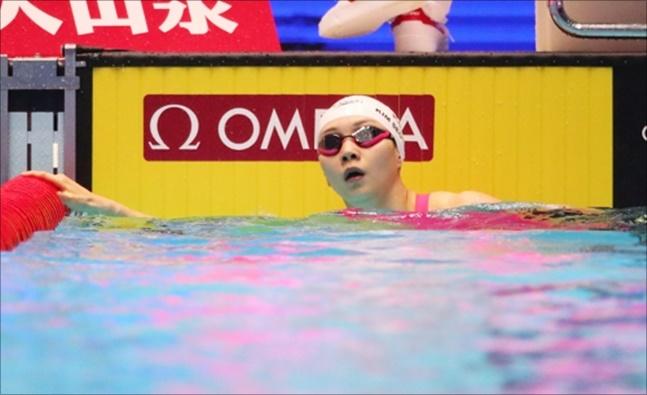 김서영이 여자혼영 200m에서 6위에 만족했다. ⓒ 연합뉴스