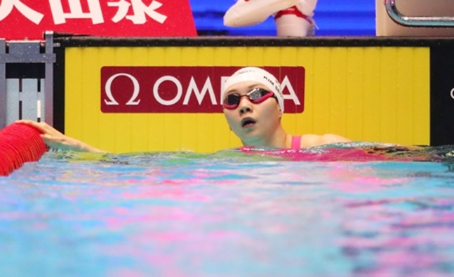 성장하고 있는 김서영에게는 아직 2020 도쿄올림픽이 남아있다. ⓒ 연합뉴스