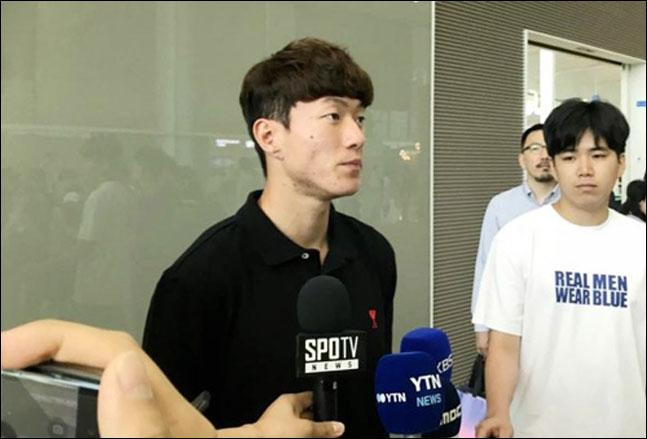 지난달 유럽 진출의 꿈을 이룬 황의조가 보르도 데뷔골을 성공시켰다. ⓒ 연합뉴스