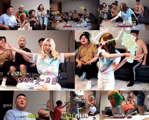 '놀면 뭐하니?' 모델 아이린이 '조의 아파트'에서 미친 활약을 펼치며 '예능계 신흥 인싸'에 등극할 것으로 기대를 모은다. ⓒ MBC