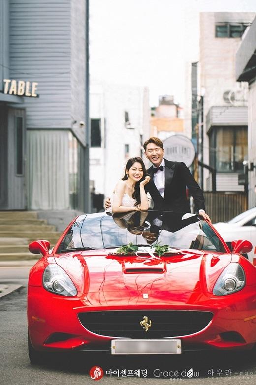 성우 겸 방송인 서유리가 오늘 결혼한다. ⓒ 마이셀프웨딩