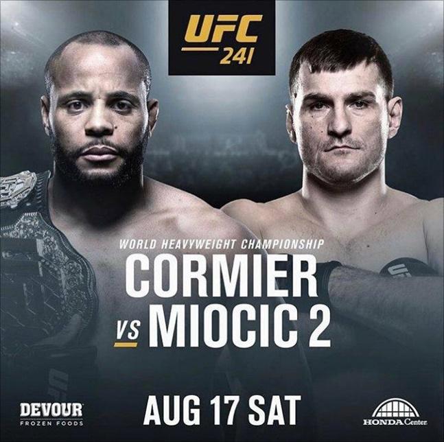 [UFC] 미오치치는 속이 타들어갔지만 코미어는 여유만만 한 1년을 보냈다. ⓒ UFC