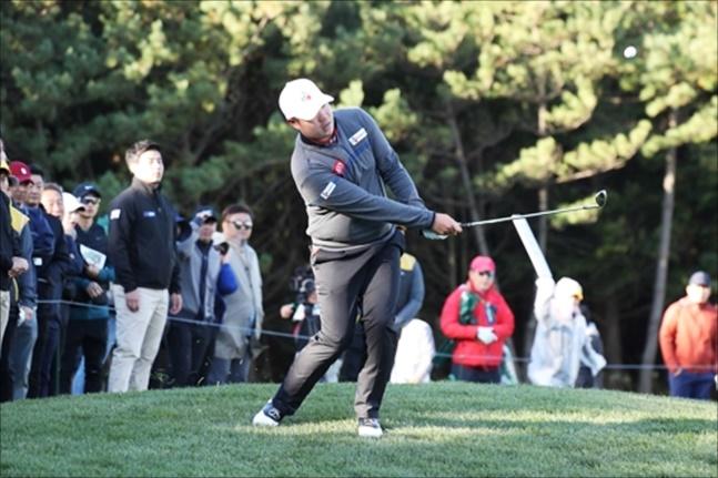 임성재가 아시아 최초의 PGA 신인상에 성큼 다가섰다. ⓒ 연합뉴스