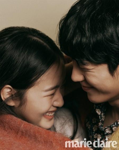 배우 김고은, 정해인의 커플 화보가 공개됐다.ⓒ마리끌레르