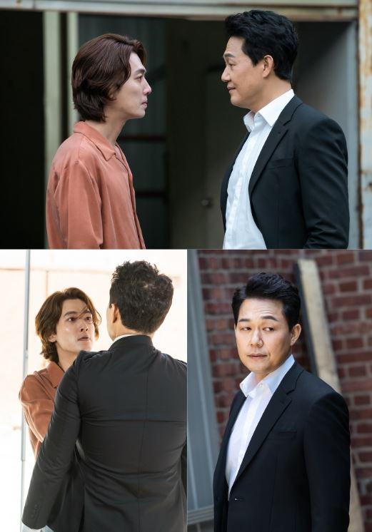 tvN 수목드라마 '악마가 너의 이름을 부를 때'(연출 민진기, 극본 노혜영 고내리, 제작 (주)이엘스토리/ 이하 '악마가(歌)') 측은 7회 방송을 앞둔 21일, 위기에 닥친 하립(정경호 분)과 악마 모태강(박성웅 분)의 팽팽한 대립을 포착했다. 여기에 하립과 김이경(이설 분)이 듀엣을 결성했던 과거도 공개되며 궁금증을 증폭한다. ⓒ tvN