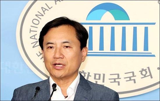 국회 법제사법위원회 소속 김진태 자유한국당 의원. ⓒ데일리안 박항구 기자