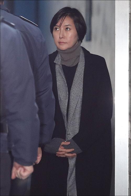 최순실씨의 조카 장시호씨 (자료사진)ⓒ데일리안 홍금표 기자
