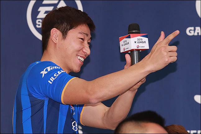 한국프로축구선수협회 이근호 회장. ⓒ 데일리안 류영주 기자