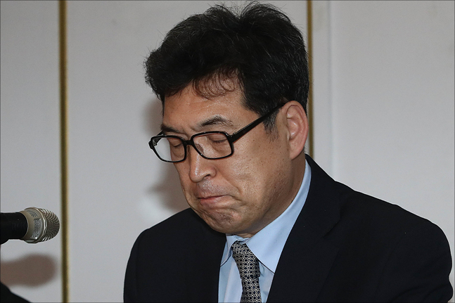 빙상대부로 불렸던 전명규 교수. ⓒ 데일리안 홍금표 기자