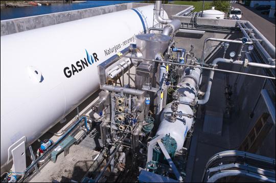 대우조선해양이 개발한 LNG추진선박의 핵심 기술인 고압천연가스 연료공급장치(FGSS) 모습. ⓒ대우조선해양