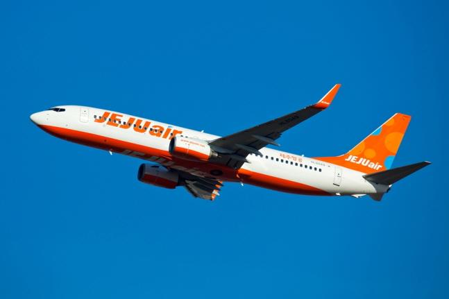 제주항공 항공기.ⓒ제주항공