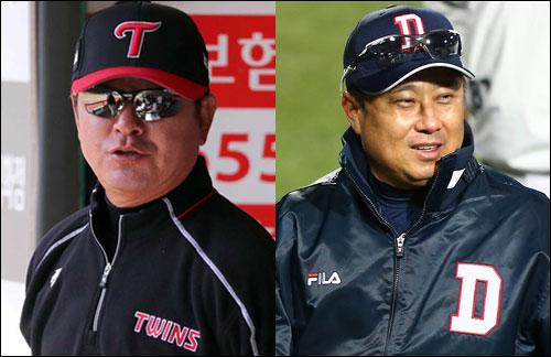'한 지붕 두 가족' LG 트윈스와 두산 베어스가 6년 만에 포스트시즌서 격돌할 가능성이 무르익고 있다. ⓒ 연합뉴스