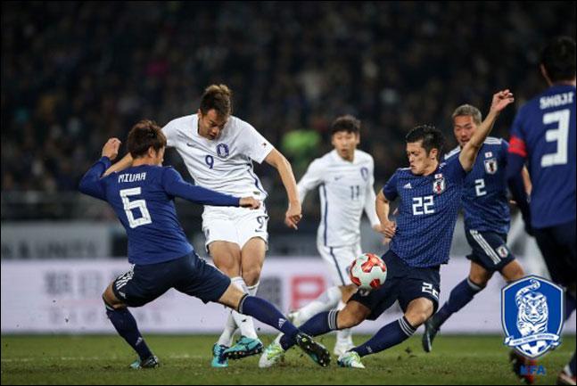 대회 3연패를 노리는 대한민국 남자대표팀은 세 경기 모두 부산아시아드주경기장에서 치른다. ⓒ 대한축구협회