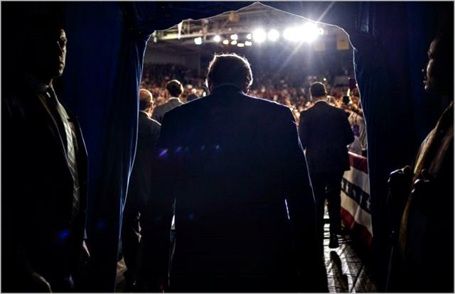 지난 7월 노스캐롤라이나 유세현장에 나서는 도널드 트럼프 미국대통령 ⓒ도널드 트럼프 트위터
