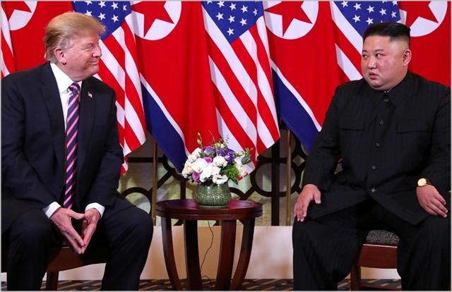 김정은 북한 국무위원장과 도널드 트럼프 미국대통령 ⓒCNN