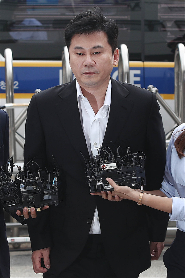 전 YG엔터테인먼트 양현석 프로듀서와 관련해 성접대 의혹을 수사한 경찰이 불기소 의견(혐의 없음)으로 해당 사건을 검찰에 송치했다. ⓒ 데일리안DB