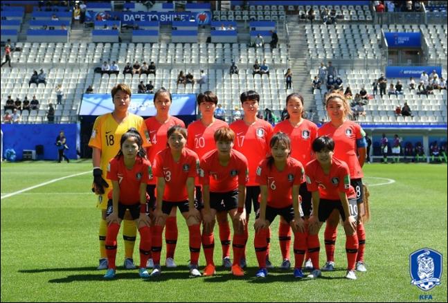 여자축구대표팀. ⓒ 대한축구협회