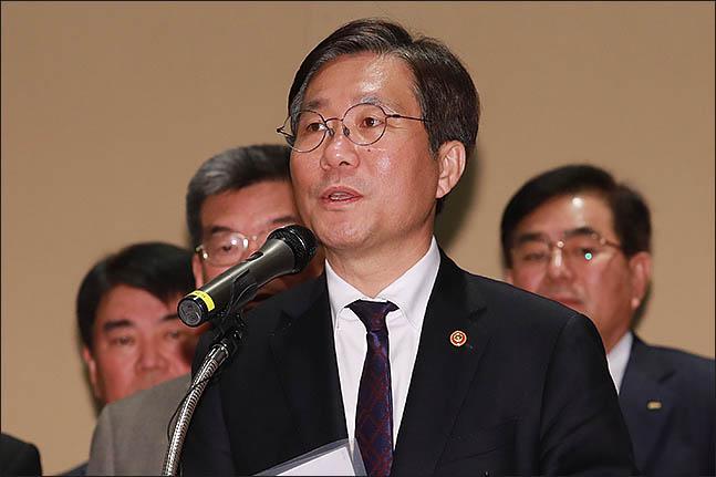 성윤모 산업통상자원부 장관 ⓒ데일리안DB