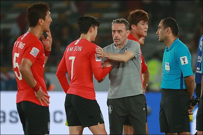벤투 감독은 경기를 하루 앞두고 가진 공식 기자회견에서 손흥민의 스리랑카전 출전을 예고했다. ⓒ 데일리안 류영주 기자