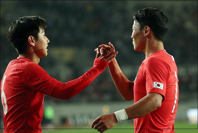 대표팀은 크게 발전한 황희찬, 이강인 카드를 얻게 됐다. ⓒ 데일리안 박항구 기자