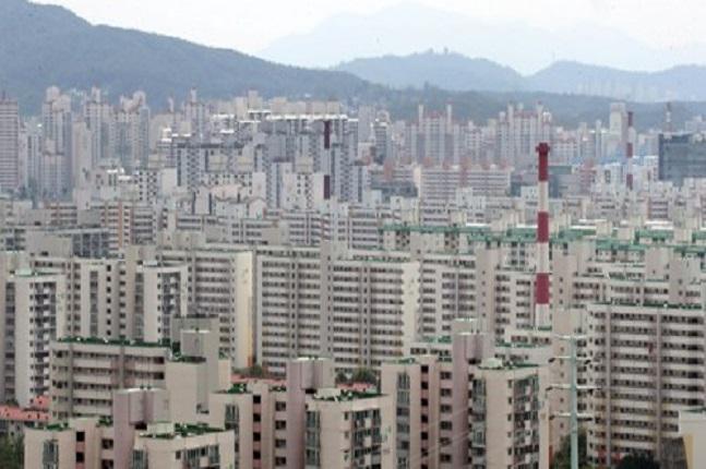 서울 아파트 단지 전경.ⓒ연합뉴스