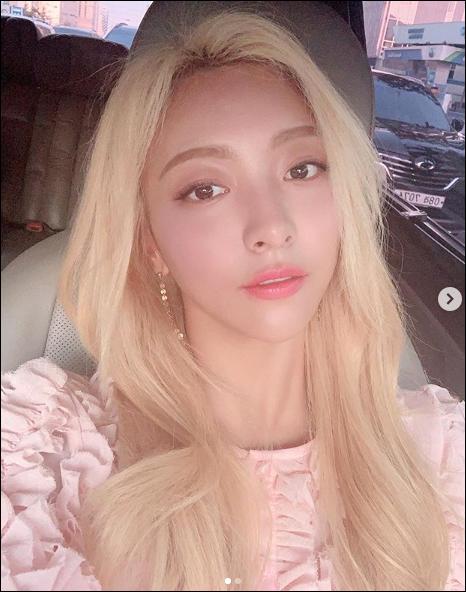 그룹 에프엑스 출신 뮤지컬배우 루나가 주말로 예정된 뮤지컬