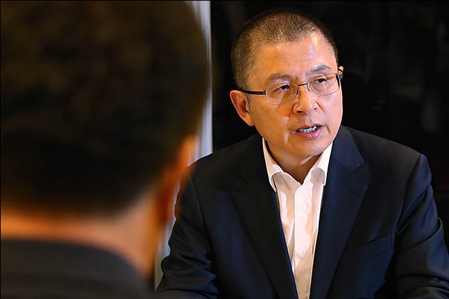 황교안 자유한국당 대표ⓒ데일리안 류영주 기자
