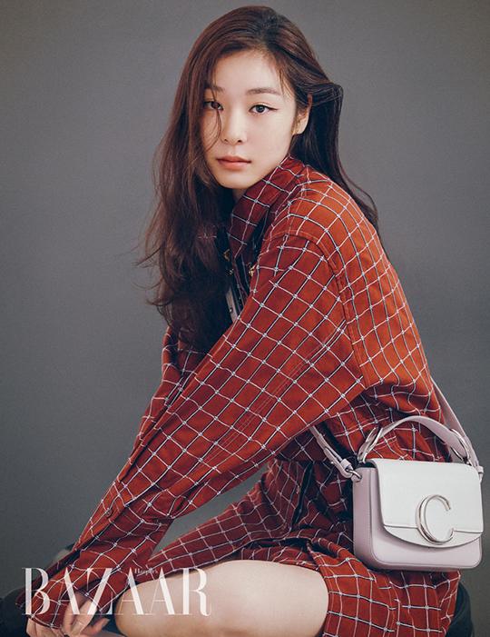 김연아 화보가 공개돼 화제다. ⓒ Harper