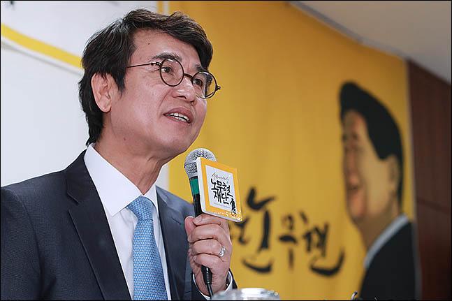 유시민 노무현재단 이사장 ⓒ데일리안 류영주 기자