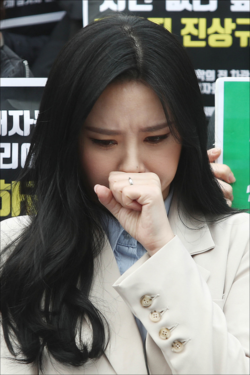 법원이 후원금 사기 의혹 등을 받고 있는 배우 윤지오에 대한 체포영장을 발부했다. ⓒ 데일리안 홍금표 기자