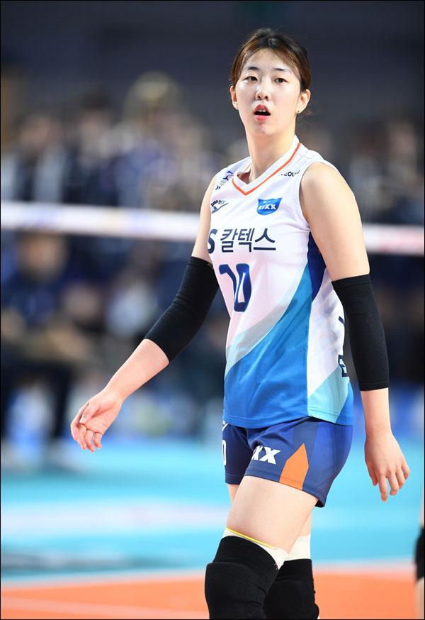 강소휘가 도드람 2019-20 V리그 1라운드 여자부 MVP로 선정됐다. ⓒ KOVO