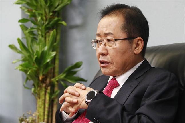 홍준표 자유한국당 전 대표(자료사진). ⓒ데일리안 홍금표 기자