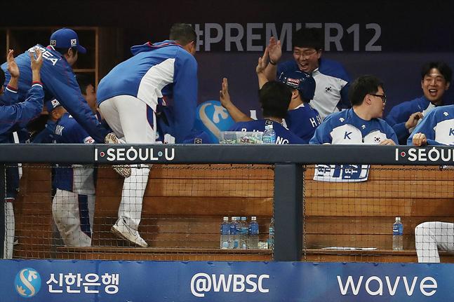 캐나다가 호주에 패하면서 한국 야구대표팀의 슈퍼라운드 진출이 확정됐다. ⓒ 데일리안 홍금표 기자