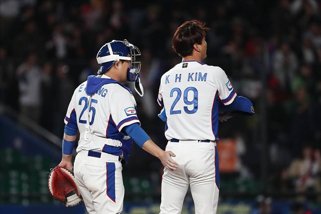 [한국 대만] 김광현의 조속한 회복이 절실하다. ⓒ 데일리안 홍금표 기자