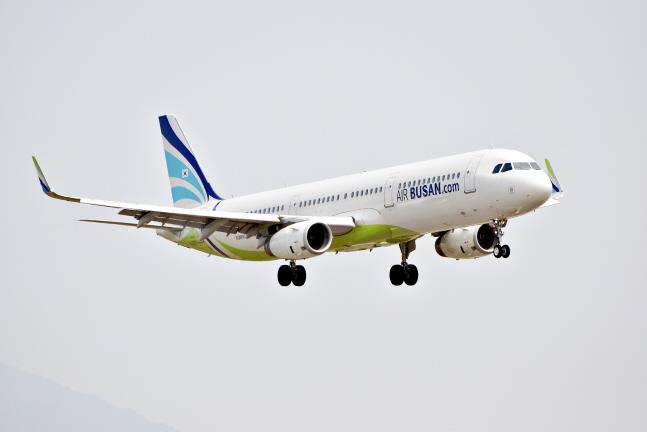 에어부산 A321-200 항공기.ⓒ에어부산