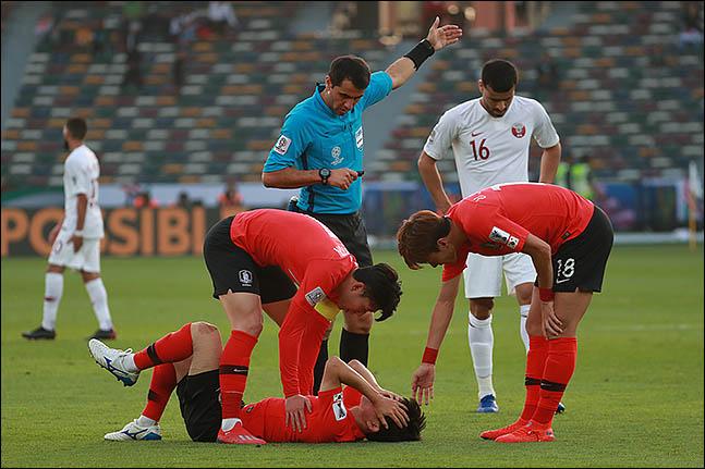 한국 축구는 중동 원정서 유독 힘을 쓰지 못하고 있다. ⓒ 데일리안 류영주 기자