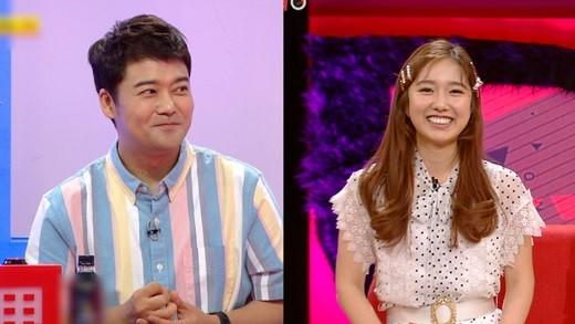 이혜성 KBS 아나운서가 방송인 전현무와 열애를 인정한 후 처음으로 KBS 2TV