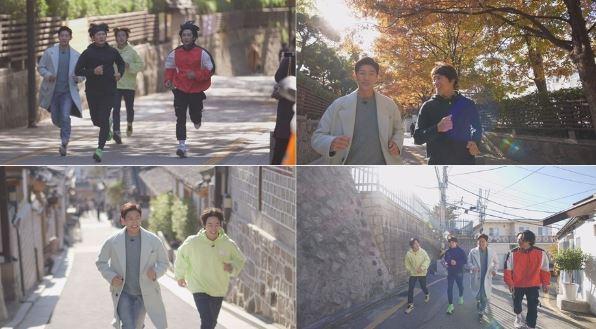 지성, 강기영, 황희, 이태선이 의기투합한 tvN 신규 예능 프로그램