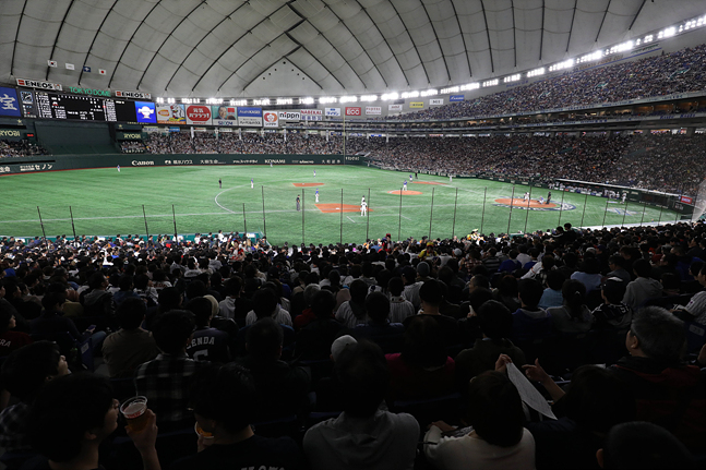 한국과 일본의 슈퍼라운드 최종전은 대회 첫 매진으로 집계됐다. ⓒ 데일리안 홍금표 기자