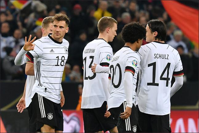 역대 최다인 13번째 유로 대회에 합류한 독일. ⓒ 뉴시스