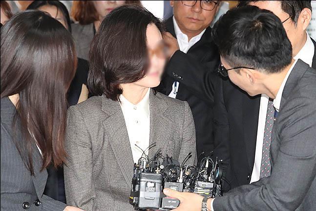 조국 전 법무장관의 배우자 정경심 동양대 교수(구속·자료사진). ⓒ데일리안 류영주 기자
