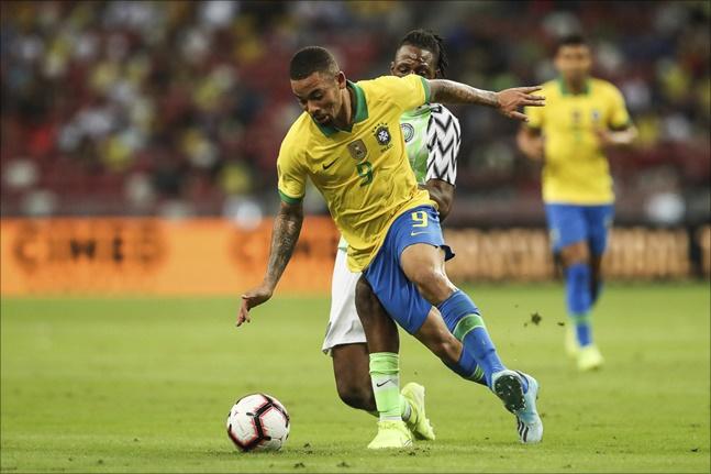 브라질은 자타가 공인하는 세계 최정상급 팀이다. ⓒ 뉴시스