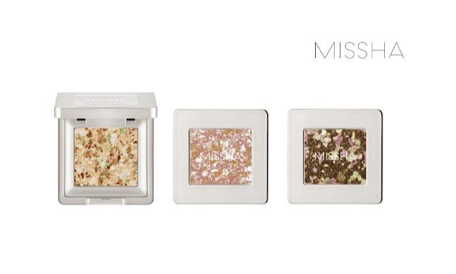 에이블씨엔씨 화장품 브랜드 미샤는 '글리터 프리즘' 3품목을 출시했다고 22일 밝혔다. ⓒ에이블씨엔씨
