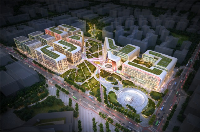 '마곡 MICE복합단지 특별계획구역 건설사업' 조감도.ⓒSH공사