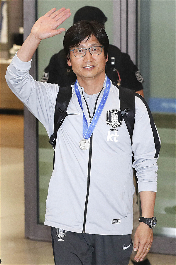 U-20 대표팀을 전담하던 정정용 감독이 서울 이랜드FC에서 새로운 도전을 시작한다. ⓒ 데일리안 홍금표 기자