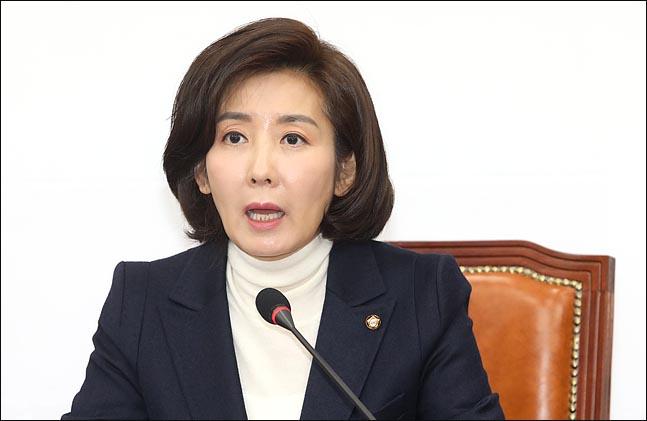 나경원 자유한국당 원내대표(자료사진). ⓒ데일리안 박항구 기자