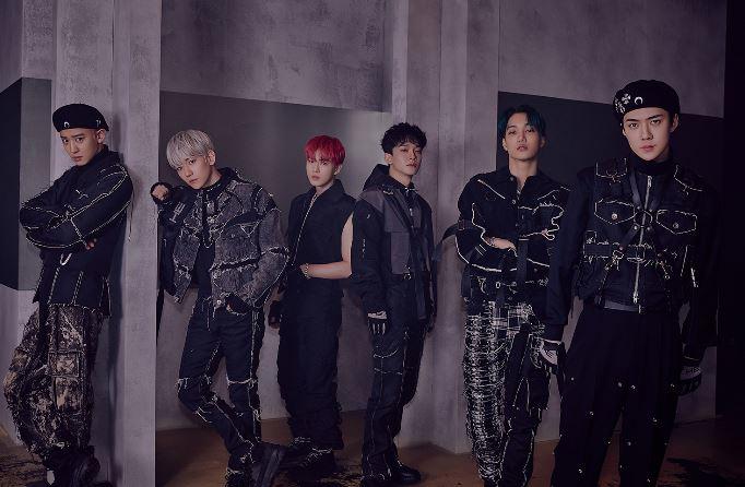 엑소(EXO)가 정규 6집 'OBSESSION'(옵세션)으로 가온 차트 2관왕을 차지했다.ⓒ SM엔터테인먼트