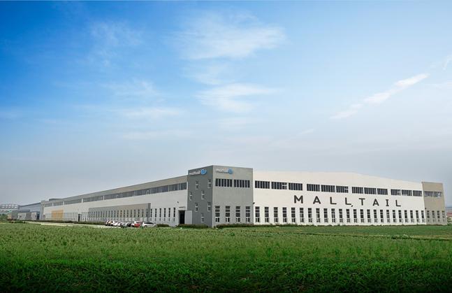 중국 웨이하이에 위치한 몰테일 풀필먼트센터 전경.ⓒ코리아센터